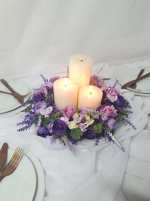 Walk in the Lavender Field