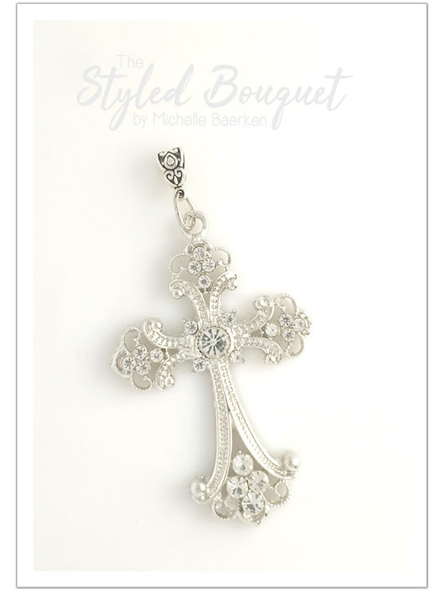 Diamante Sparkle Cross