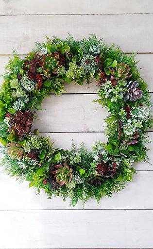 Lushes Succulent Wreath