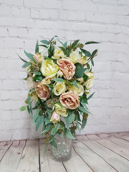 Rose & Native Bridal Bouquet