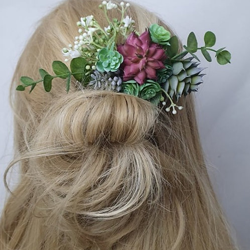 Succulent Hair Comb