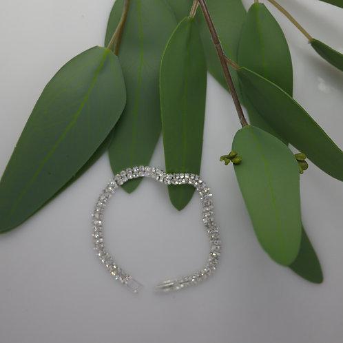 Double Strand Diamante Bracelet