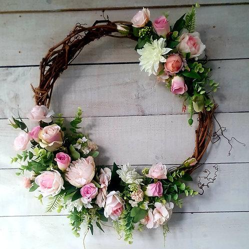 Lavish Pink Wreath