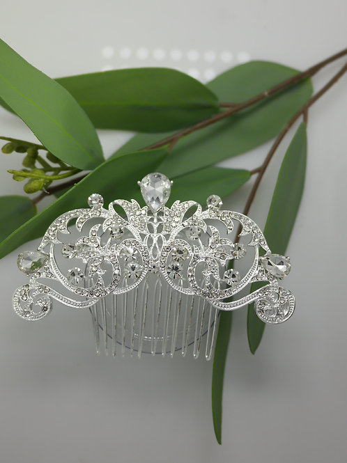 Diamante and Crystal Statement Hair comb
