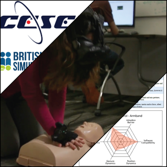 CPR Training Virtual Reality Simulation