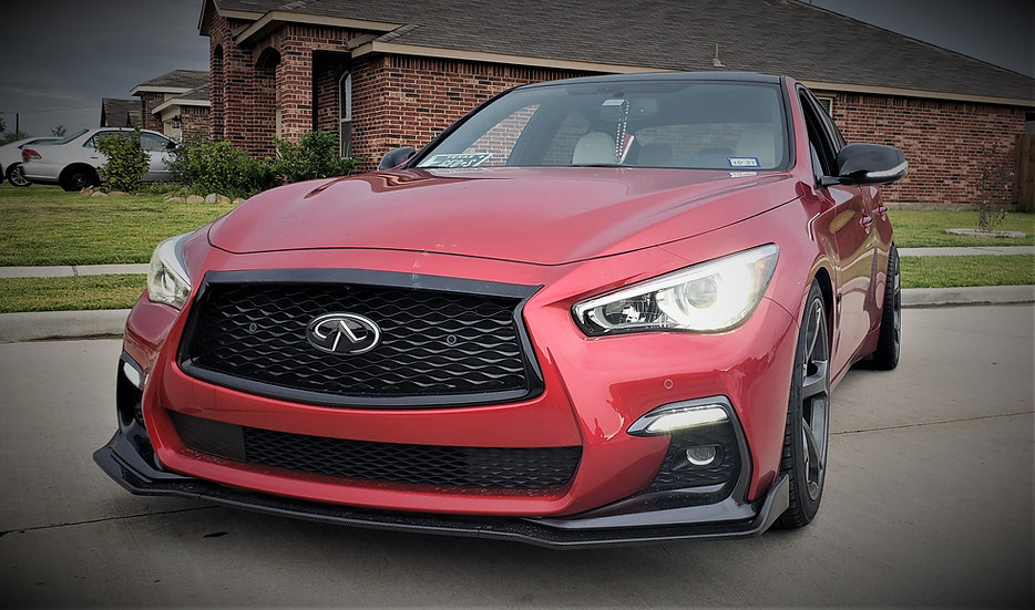 2014-2020 Infiniti Q50 Front Bumper DRL + Sequentials Turn Signals