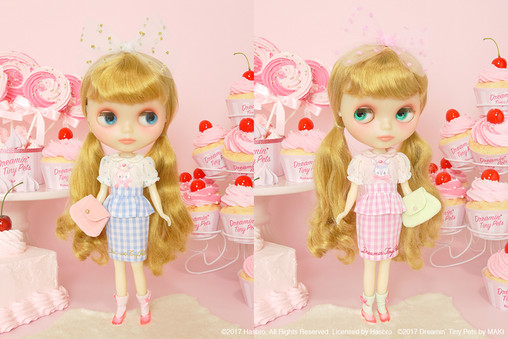 "JM Dolly Wear × MAKI ""Sparkling Dots"""