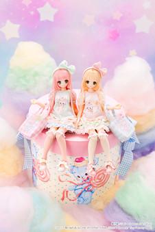 """えっくす☆きゅーと × MAKI """"Sugar Dream/KORON"""" """"Sugar Dream/CHIIKA"""""""