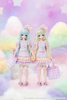 """えっくす☆きゅーと × MAKI """"Sugar Dream/MIU"""""""