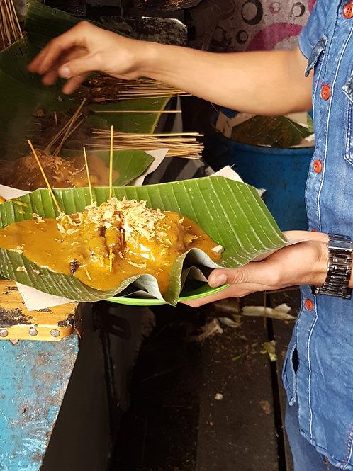 Indonesische saté pan 4 personen