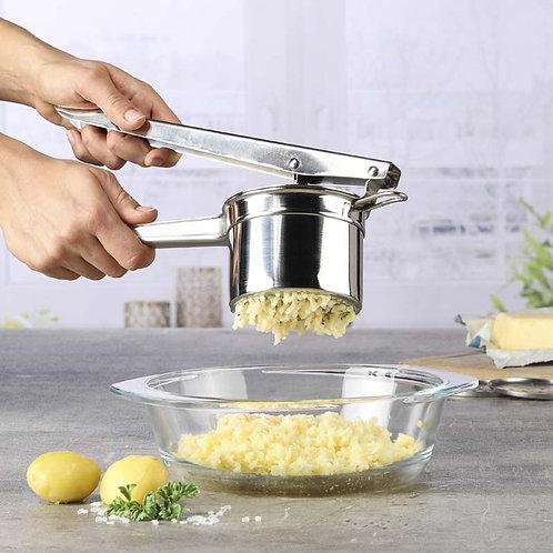 Aardappelpers - RVS - met 3 losse schijven