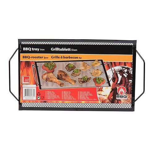 Barbecue grill rooster 40x22cm met grepen