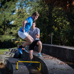 Sportartspezifisches Training - entwickelt aus einer Analyse der Anforderungen der Sportart und Ihrer Stärken und Schwächen.
