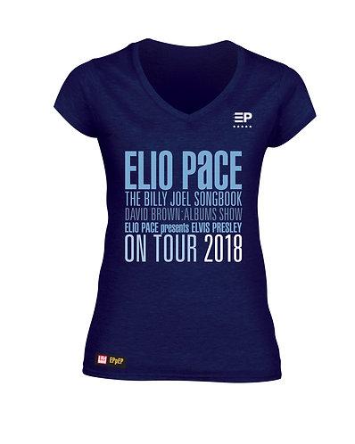 ****COLLECTOR'S ITEM**** T-Shirt (Ladies - Blue full logo)