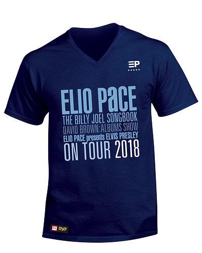 ****COLLECTOR'S ITEM**** T-Shirt (Men - Blue full logo)