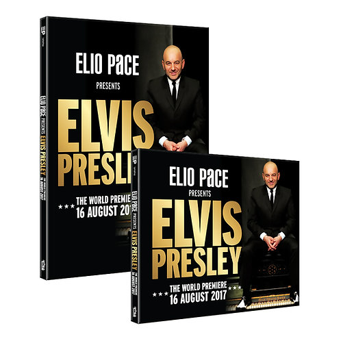 ELIO PACE presents ELVIS PRESLEY - DVD & Double CD (2019)
