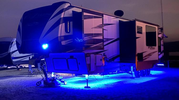 RV Multi-Color LED Under-Glow Light Kit