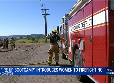 KOIN TV Discusses Fire Up Camp!