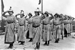 A+British+women's+fire+brigade+takes+the