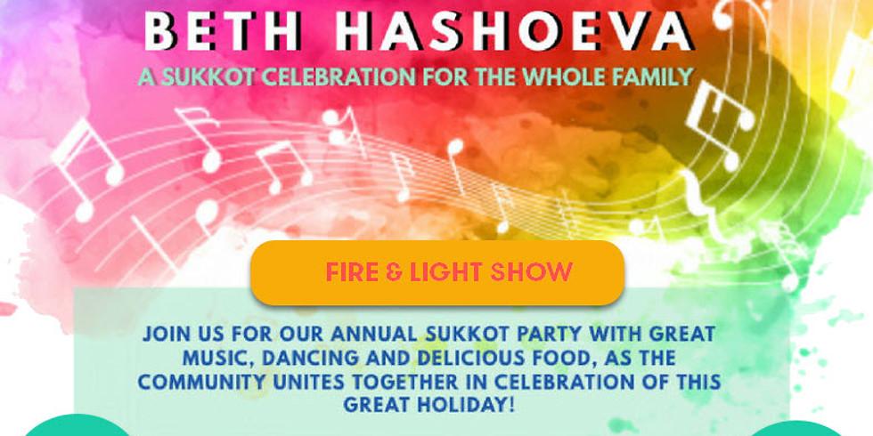 Family Sukkah Party!