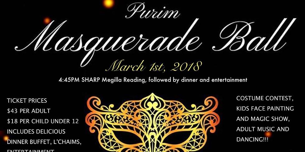 Purim Masquerade Party and Megilla Reading!