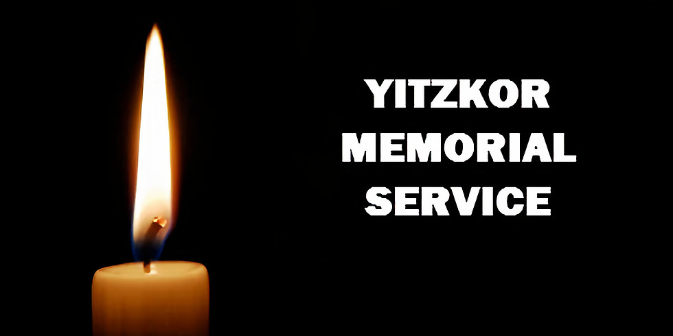 Yitzkor Memorial Service