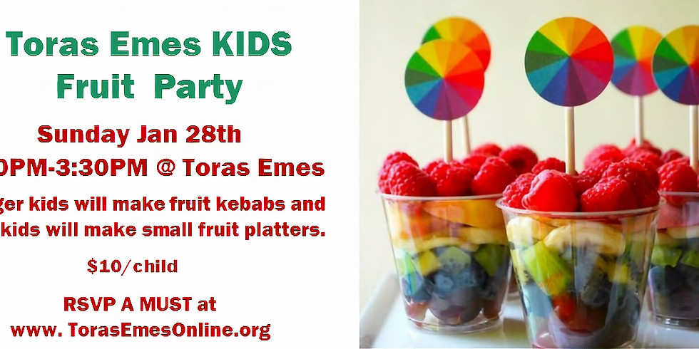 Kids Fruit Party