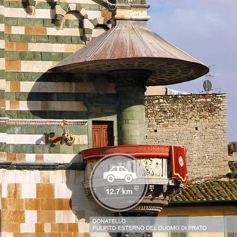 Pulpito di Donatello Prato