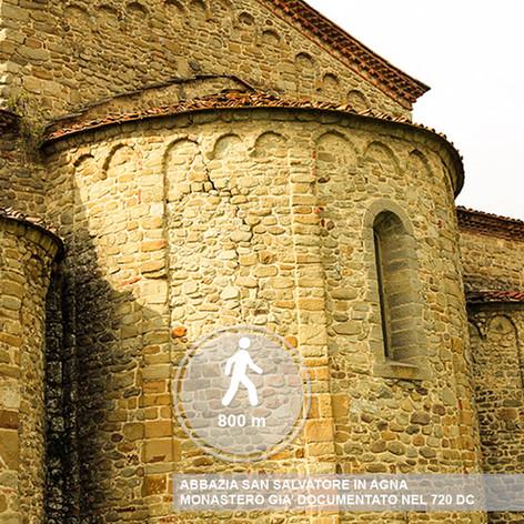 Abbazia San Salvatore in Agna Montale