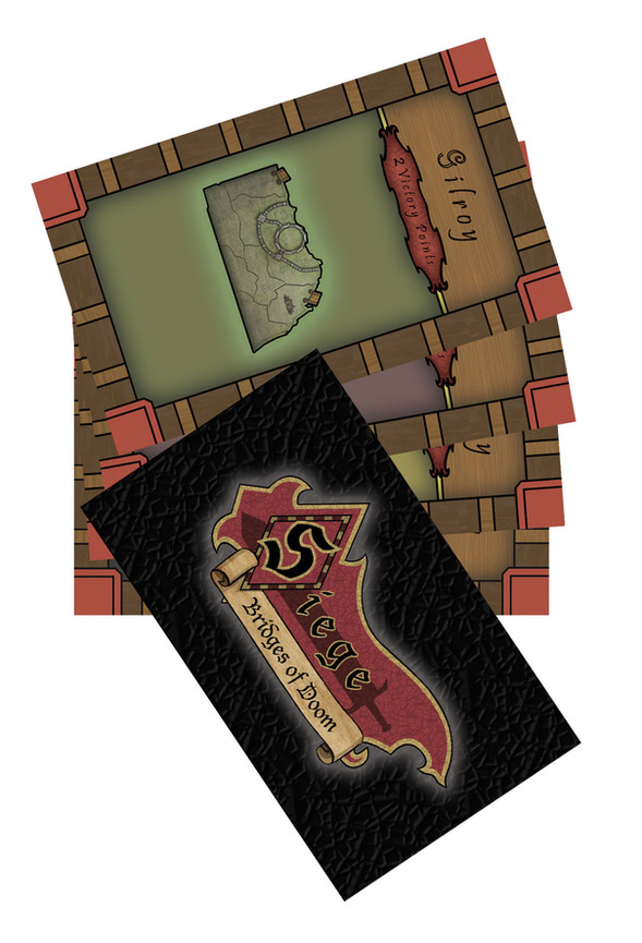 Siege Game Cards