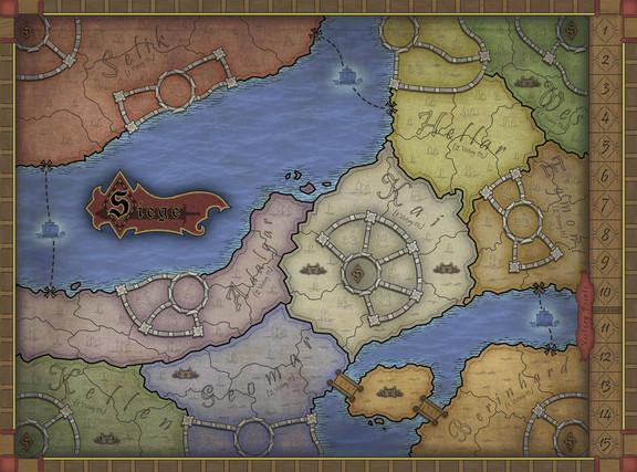 Siege Game Map