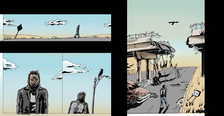 Outcast Comic 1