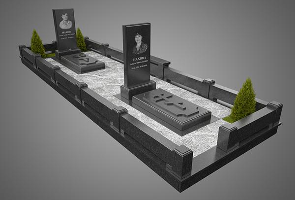 Купить памятник в Омске. комплекс №3