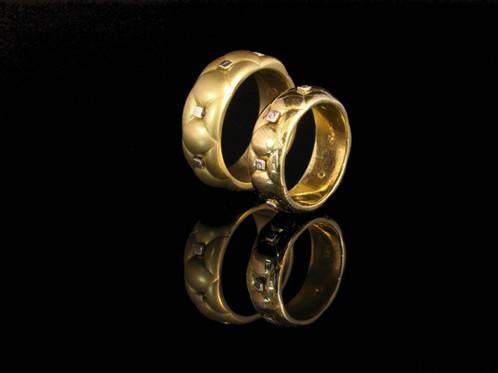 Cushion Chesterfield Wedding Rings Home Herman Romberg Goldcraft