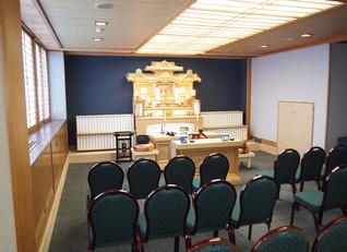 家族葬専用ホール改装