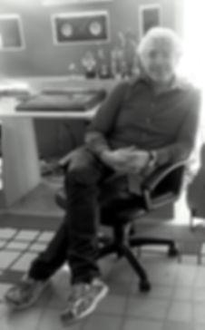 Mariano Saulino at his recording studio