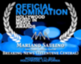 Mariano Saulino Hollywood Media in Awards