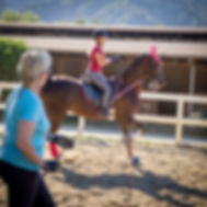American Saddlebred, saddle seat, instrutor, trainer, student, lesson, horse, bennett Farms