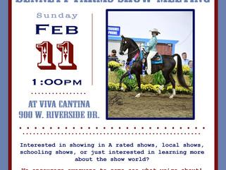Bennett Farms Show Meeting