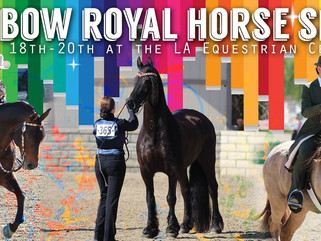 Saddle Up for the Rainbow Royal Horse Show!