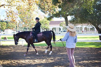 Horseback riding lessons, Bennett Farms