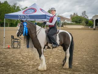 Bennett Farms SWSL Show Results