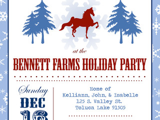 Bennett Farms Holiday Party