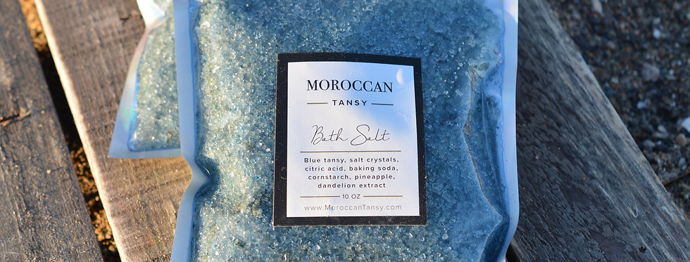 Blue Tansy Bath Salts