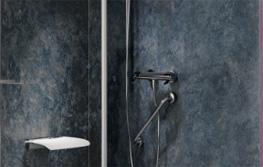 Accessible bathroom wall panels