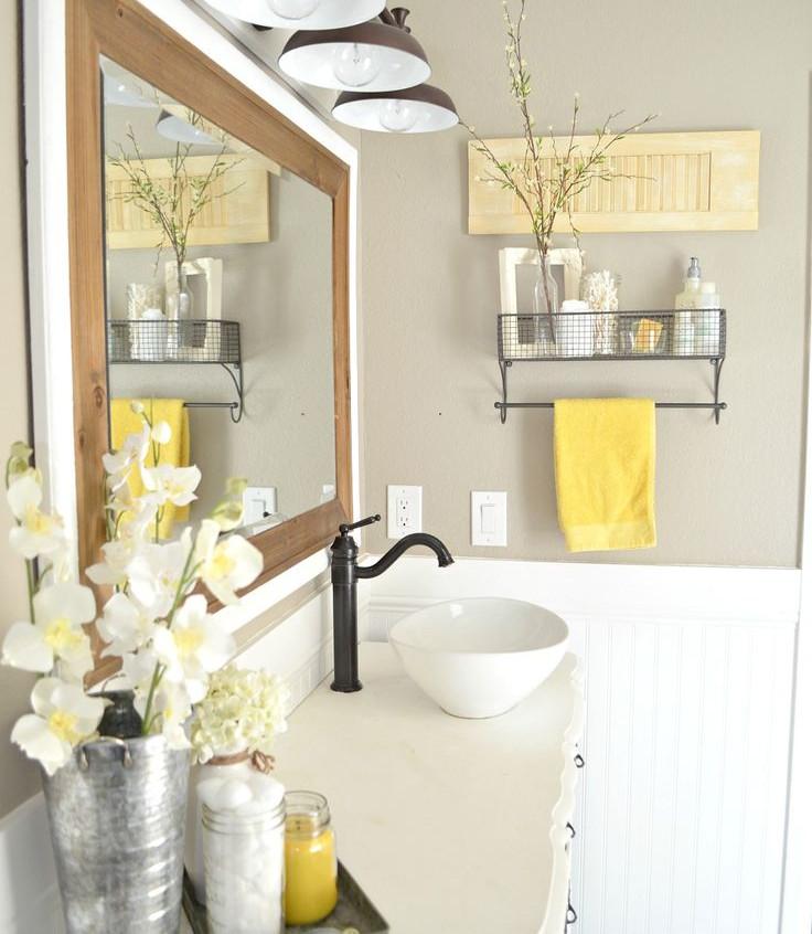spring bathroom colours
