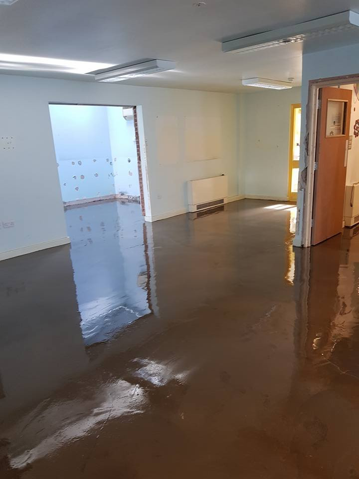 South Lodge work starts, new floors
