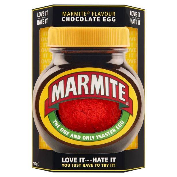 Marmite flavour chocolate egg