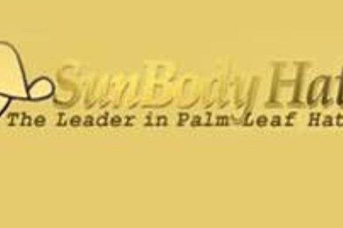 SunBody Palm Leaf Hats