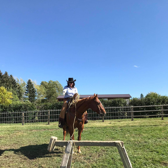 Ranch Roping Clinic Nanton, AB